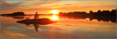 0427 - Luoto ja auringonlasku