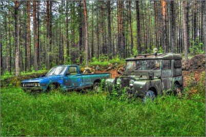 0152 - Unohdetut autot