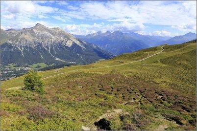 1765 - Ylänkönäkymää Alpeilla